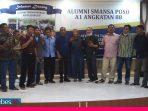 Reuni Alumni SMANSA Poso Angkatan 88, Raymon: Dulu Anwar Hafid Duduk di Belakang, Sekarang di Depan