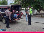 Polres Sigi Laksanakan K2YD, Imbau Semua Pengendara Patuh Protokol Kesehatan