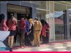 Gempa Mag 2,9 Guncang Palu , Peserta RUPS-LB Bank Sulteng Berhamburan