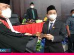 Wahyu Hidayat Sudirman Resmi Jabat Wakil Ketua I DPRD Morut