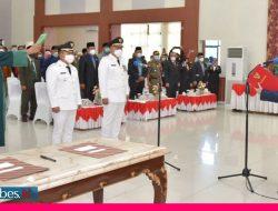 Dilantik, Gubernur Minta Bupati-Wakil Bupati Banggai Tahan Diri dari Godaan