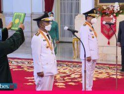 Dilantik Presiden Jokowi, Rusdi – Ma'mun Janji akan Turunkan Angka Kemiskinan