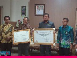 Touna Sabet Penghargaan Penyalur Dana Desa Tercepat