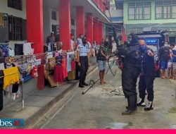 Korona Mengganas Lagi, Blok Hunian Rutan Palu Disemprot Disinfektan