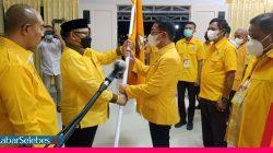 Pimpin Golkar Sigi, Moh Irwan Target Tujuh Kursi