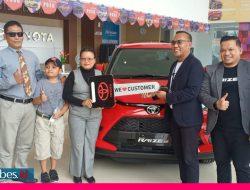 Kalla Toyota Jajal Pasar All New Toyota Raize di Poso