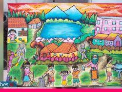 12 Anak Terima Penghargaan Lomba Melukis Bertema Covid-19 dari Forest Programme III