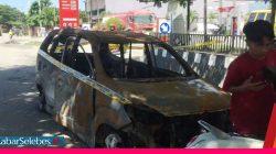 Pihak SPBU Soekarno Hatta Palu Mengaku Tak Tahu ada Jeriken di Mobil yang Terbakar