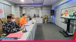 Rapat virtual Kantor Gub