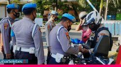 Razia anggota polisi