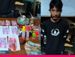 Cetak Uang Palsu, Satu Pelaku Ditangkap Polisi Saat Belanja di Kios