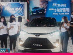 Tengah Pendemi, Kalla Grup Luncurkan Toyota Raize di Palu