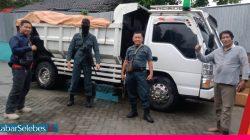 Truk Bermuatan Hasil Tambang Ilegal dari Kawasan TNLL Diamankam Gakkum KLHK Sulteng