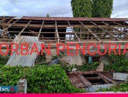 Setelah Dibekuk, Tujuh Pencuri Atap Seng RS Bersalin Palu Dihukum Kerja Bhakti