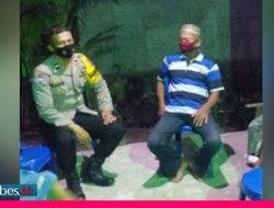 Antisipasi Penularan Covid -19, Bhabinkamtibmas Sambangi Warga di Dua Kecamatan di Sigi