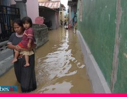Sungai Palu Meluap, Puluhan Rumah Warga Terendam