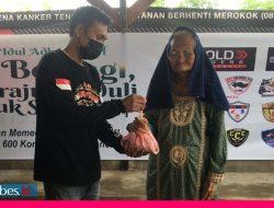 Rayakan Idul Adha, Bold Riders Morowali Distribusikan Paket Daging Kurban ke 5 Desa