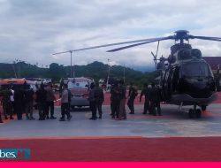 Dievakuasi Heli Super Puma, Jenazah Dua Teroris Poso Akhirnya Tiba di Palu