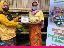 Qurban Tanpa Batas, ACT Cover 1.000 KK di Sulteng