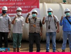 PT IMIP Suplai 200 Tabung Oksigen untuk Penanganan Covid-19 di Sulteng