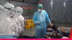Darurat Covid-19! RS Madani Palu Rawat Pasien di Tenda, Hingga Stok Oksigen yang Kurang