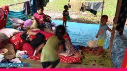 Pengungsi Gempa Touna
