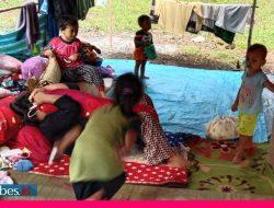 Pengungsi Gempa Touna Mengeluh belum dapat Bantuan Pemda
