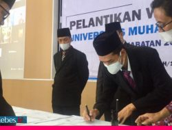 Tiga Wakil Rektor Unismuh Palu Dilantik