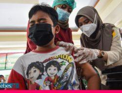 Saat Anak-anak di Palu Antusias Ikut Vaksinasi Covid-19