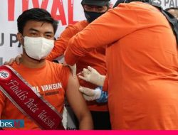 Baru 11 Persen Warga Sulteng Mendapatkan Vaksinasi Covid -19
