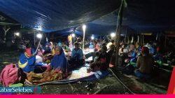 Takut Gempa Susulan, Ratusan Warga Desa Labuan Touna Kembali Mengungsi