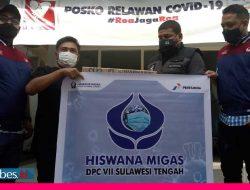 Hiswana Migas Sulteng Bantu Vitamin Pasien Isoman, Roa Jaga Roa Sudah Layani 716 Orang