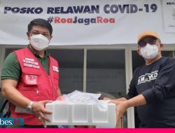 Roa Jaga Roa Serahkan Lima Unit Oksigen Konsentrat, PMI Sulteng :  Ini untuk Pasien Isolasi Terpadu