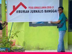 Rumah Jurnalis Banggai Terbentuk untuk Bantu Wartawan Terpapar Covid-19