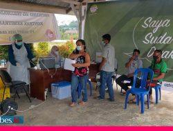 PT SJA 2 Gelar Vaksinasi Bagi Karyawan Perusahaan dan Keluarga