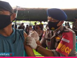 Alumni Akpol 97 Gelar Vaksinasi untuk 1.000 Warga Donggala