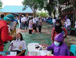 BIN Laksanakan Vaksinasi Bagi Ribuan Pelajar dan Masyarakat