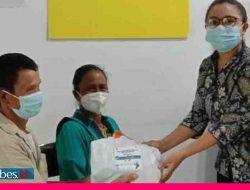 HUT ke-15, Bank BPR Anugerah Poso Bantu Warga Kurang Mampu