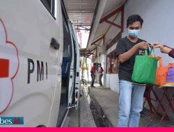 HUT ke-76 PMI di Sulteng, Donor Darah Bawa Pulang Sembako