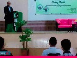 Diskusi Publik dan Pelantikan Pengurus HMI MPO Morowali, Pemda Diharap Dukung Masa Depan Pendidikan