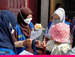 Mahasiswa KKN UNISA Palu Lakukan Penyuluhan Pencegahan Covid-19 di Tiga Posyandu