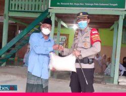 Kapolres Palu Silaturahmi dan Bagikan Paket Sembako ke Ponpes Manba'ush Sholicin Al- Charomain