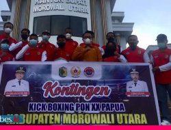 Bupati Morut Siapkan Sepeda Motor untuk Peraih Medali Emas Eksebisi Kick Boxing PON Papua