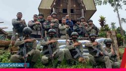 Pasukan Satgas Madago Raya