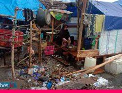 Pascgempa Touna, Warga yang Mengungsi di Gunung Desa Labuan Makin Bertambah