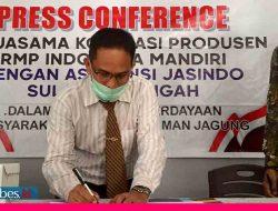Koperasi RMP Jalin Kerjasama Asuransi Jasindo Proteksi Tanaman Jagung