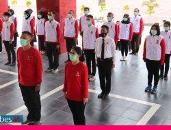 Lantik Relawan Vaksin Presisi, Polda Sulteng Gencarkan Vaksinasi untuk Menekan Penularan Covid -19