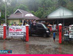 APPDS Gelar Aksi Damai, Minta Turunkan Kepala Desa Sakita