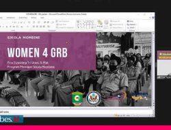 Women4GRB Sikola Mombine Dukung Visi Misi Bupati Poso