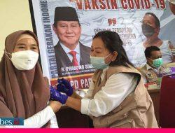 Vaksinasi Gratis, Gerindra Sulteng Siapkan 300 Dosis